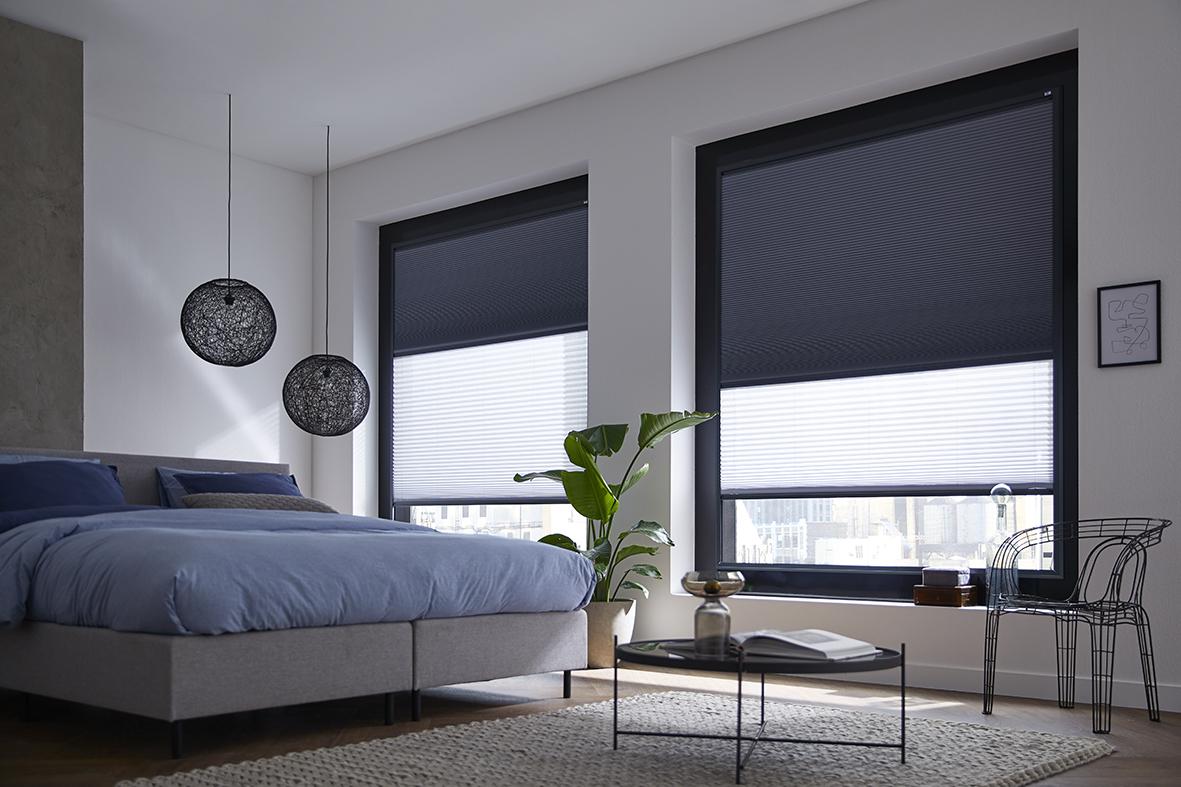 Raamdecoratie kopen in Roosendaal, Keje Day and Night voor in de slaapkamer