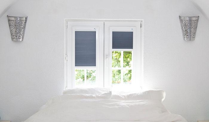 Keje Latende raamdecortie voor in de slaapkamer